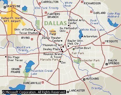 Escape to Dallas Texas