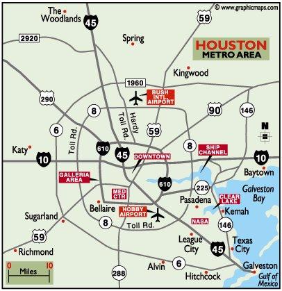Escape To Houston Texas
