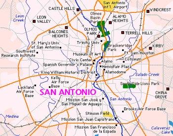 Escape To San Antonio Texas
