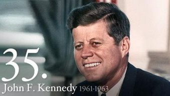 35th President of The United Satates Of America - John F. Kennedy