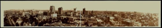 Dallas Skyline of 1912