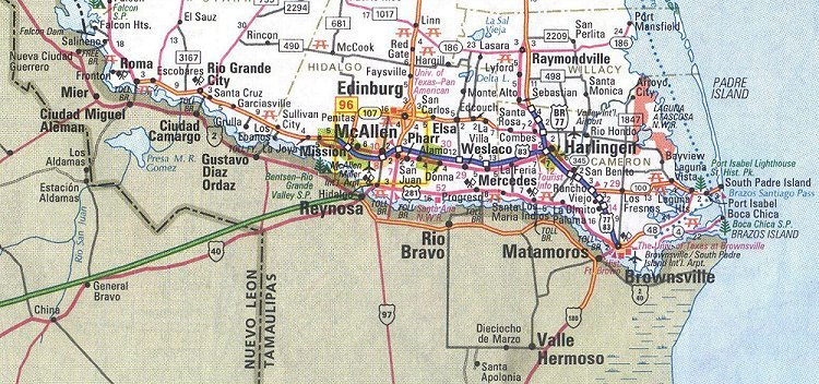 The Rio Grande Valley in Texas